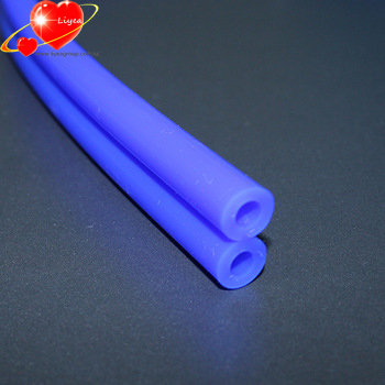 Durable Round Silicon Hose Pipe Platinum Cured Food Grade Silicone Tubing For Milk Machine