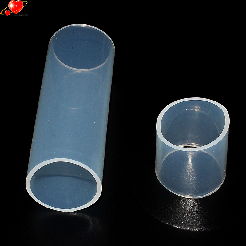 Flexible Platinum Clear Colored Big Large Diameter Inflatable Silicone Rubber Tube Hose 80Mm 60Mm