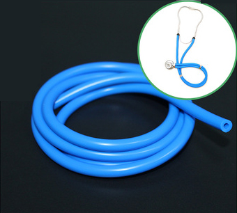 Anti-Static 100% Medical Grade Silicone Rubber Tube For Stethoscope