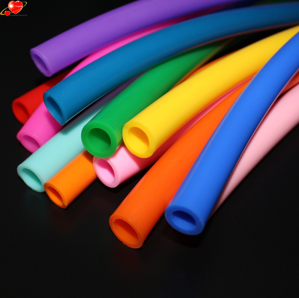 Heat Resistant Disposable Transparent Hookah Shisha Silicone Rubber Hose Pipe For Amy Deluxe